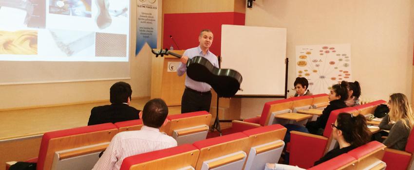 Production Management Seminar at Marmara University
