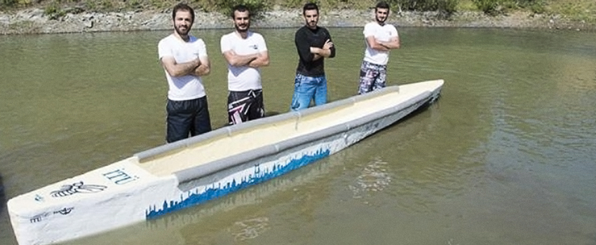 Istanbul Technical University - Fantastic Four Canoe Team