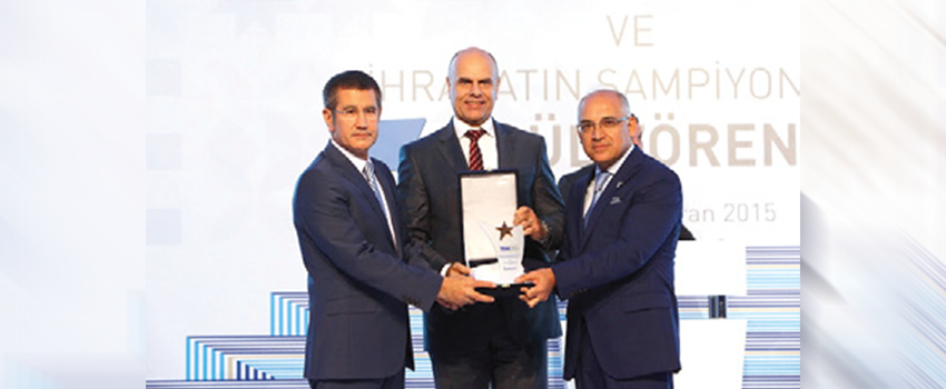 2014 Export Champions Award for Kordsa