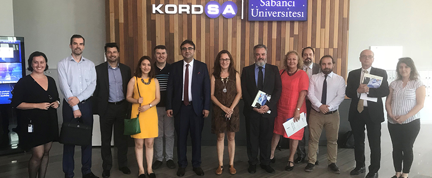 Kordsa and Sabancı University Hosted the Consulate General Officials from Different Countries