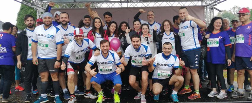 Kordsa Runs at Runatolia Marathon