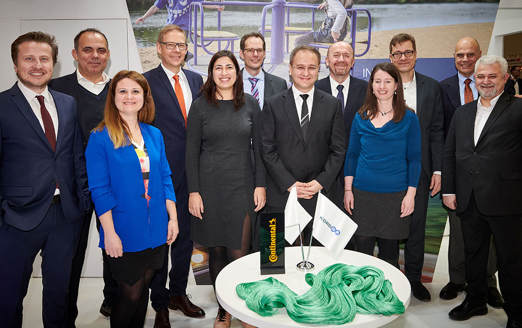 Kordsa and Continental Join Forces to Present Cokoon, a New Eco-friendly Adhesion System for Textile Reinforcing Materials, as an Open Source Technology
