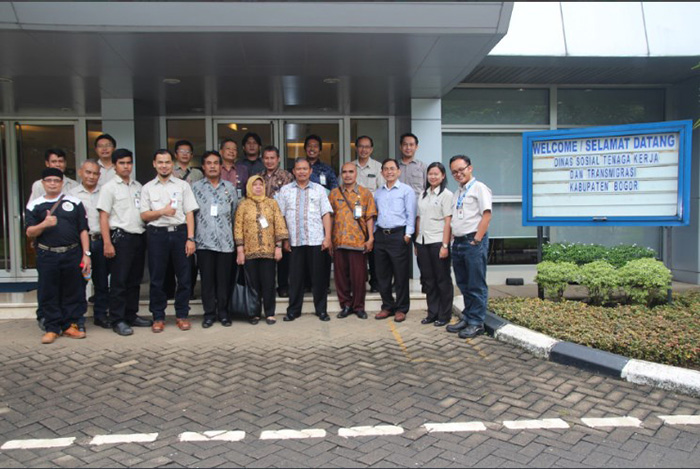 """The Best Employee Award Goes To Indonesia  With The Project """"Work Safety Experimentation Center"""""""