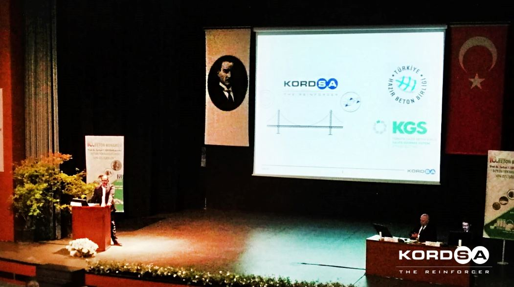 Kordsa at the 10th International Concrete Congress