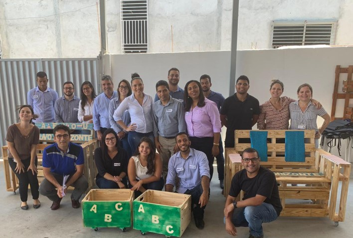 Kordsa Brazil Produces Furniture for Mini Reinforcers