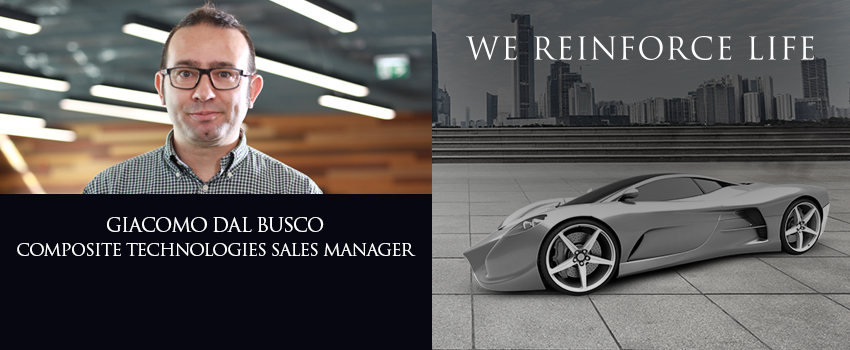 Giacomo Dal Busco, our Composite Technologies Sales Manager, shares his reinforcing story!