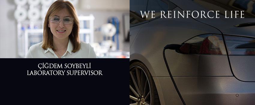Laboratory Supervisor Çiğdem Soybeyli, shares her own reinforcing story!