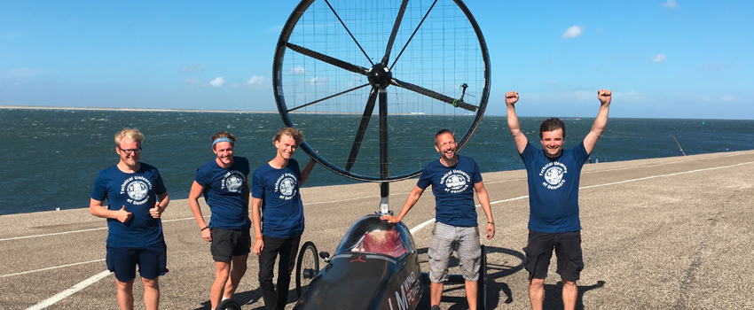 Wind Vehicle Reinforced by Kordsa Competes in Holland