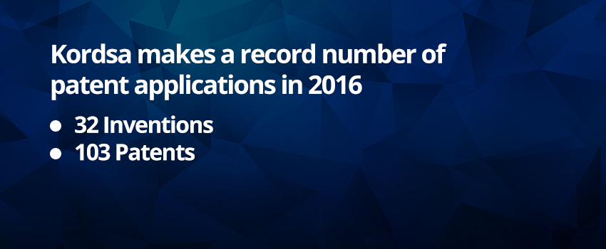 Kordsa Makes Record Number of Patent Applications in 2016