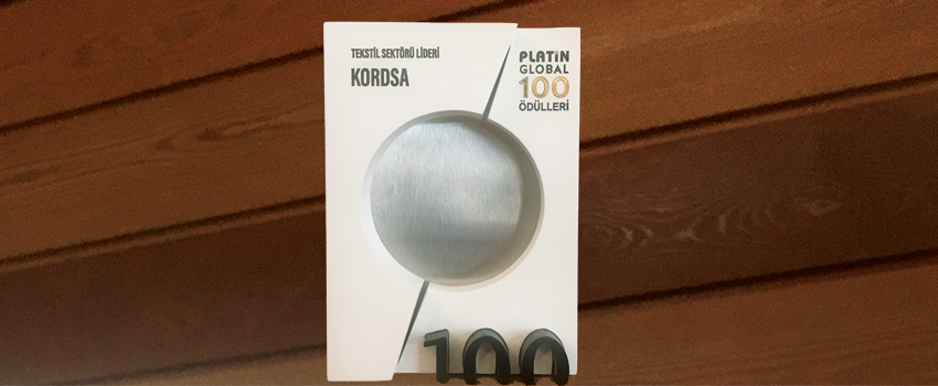 Kordsa Ranked First in Textiles Category of Platin Magazine Awards