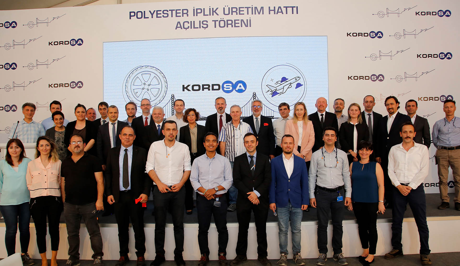 Kordsa puts into operation the USD 18 million worth additional polyester yarn line at İzmit plant